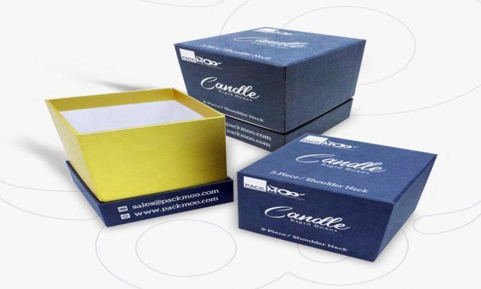 Custom Candle Rigid Boxes